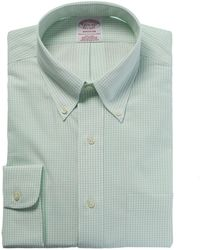 Brooks Brothers Madison Fit Dress Shirt - Green