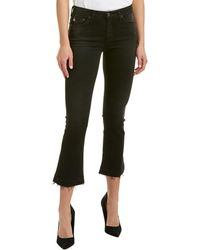 AG Jeans - The Jodi 4 Years Banished High-rise Slim Flare Crop - Lyst