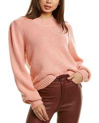 Brochu Walker Mele Cashmere Jumper - Pink