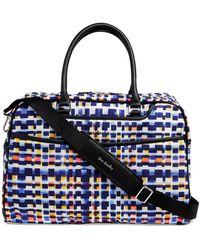 Vera Bradley Iconic Weekender Travel Bag - Blue