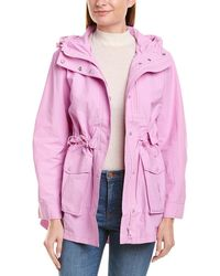 J.Crew Rain Jacket - Pink