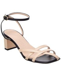 Gray Matters Mia Leather Sandals - Natural