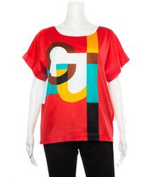 Gucci Crew T-shirt, Size Eu 42 - Red