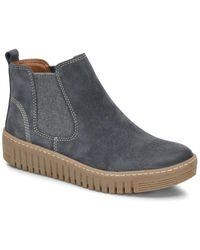 Comfortiva Hartley Chelsea Boot - Blue