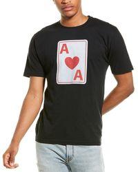 Red Jacket Anaheim Aces Archive T-shirt - Black