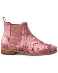 TOMS Ella Ankle Boot - Pink
