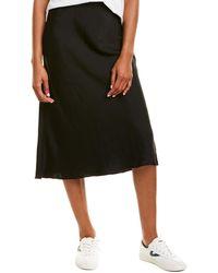 Vince Camuto Bias Skirt - Black