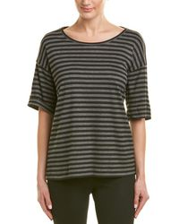 Lafayette 148 New York Easy T-shirt - Black