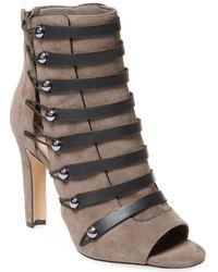 Karl Lagerfeld Paris Gaby High Heel Bootie - Grey