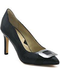 Adrienne Vittadini - Noodle Leather Pump - Lyst