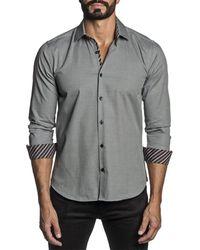 Jared Lang Woven Shirt - Grey