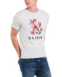 Brooks Brothers - Lobster Graphic T-shirt - Lyst