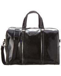 Robert Graham Aegean Leather Duffel Bag - Black