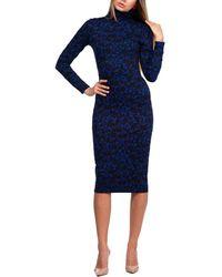 Aerin Midi Dress - Blue