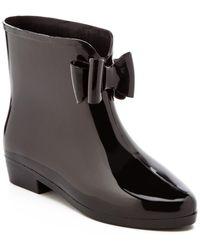 "Dizzy ""picabow"" Rainboot - Black"