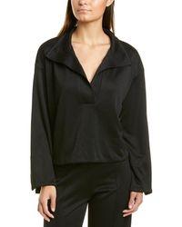 Esse Studios Jersey Knit Sweatshirt - Black