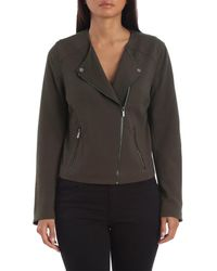 Bagatelle Collarless Ponte Biker - Green