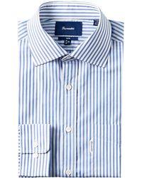 Façonnable Façonnable Club Fit Dress Shirt - Blue