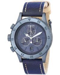 Nixon Women's Leather Watch - Blue