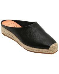 Dolce Vita Brandi Leather Slide - Black