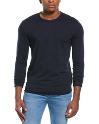 Rag & Bone Huntley Jersey Tee Relaxed Fit T-shirt - Blue