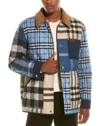 Burberry Quilted Jacket - Blue