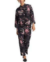 Natori 2pc Pyjama Pant Set - Black