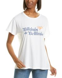 Wildfox Manchester Bellinis Please T-shirt - White