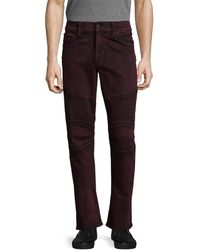 True Religion - Motorcycle Slim Fit Pant - Lyst
