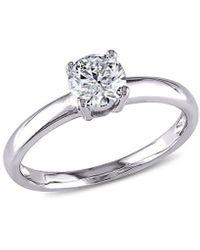 Rina Limor 14k 0.75 Ct. Tw. Diamond Engagement Ring - Metallic