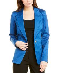 Lafayette 148 New York Briley Blazer - Blue