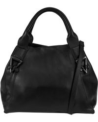 Kooba Corbus Leather Shopper - Black