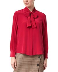 Tara Jarmon Silk Top - Pink