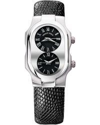 Philip Stein Unisex Signature Watch - Black