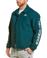 New Balance Weather Coach Jacket - Green