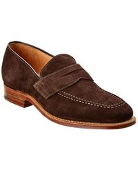 Dunhill Suede Loafer - Brown