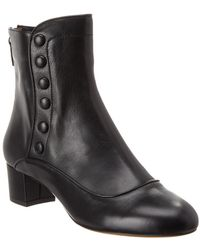 Tabitha Simmons Franny Leather Boot - Black