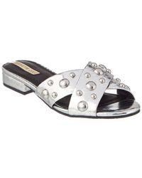 Kenneth Cole New York Verna Stud Sandal - Metallic