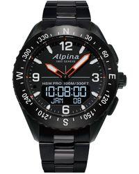 Alpina Alpinerx Watch - Black