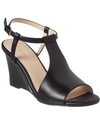 Cole Haan Maddie Wedge Sandal - Black
