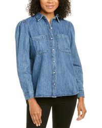 DL1961 Premium Denim Simone Shirt - Blue