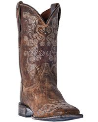 Dan Post - Swirlz Western Leather Boot - Lyst