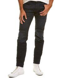 G-Star RAW Raw 5620 3d Cobler Processed Slim Leg Jean - Black