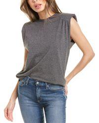 Alice + Olivia Braxton T-shirt - Grey