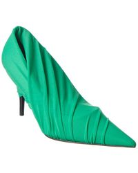 Balenciaga Wrapped Monochrome Pump - Green