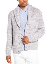 Vince Marl Wool & Cashmere-blend Cardigan - Grey