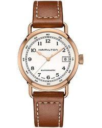 Hamilton Khaki Navy Watch - Metallic