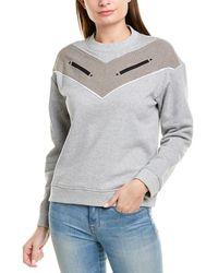 10 Crosby Derek Lam Crew Sweatshirt - Grey