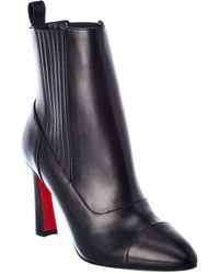 Christian Louboutin Me In The 90's 85 Leather Boot - Black