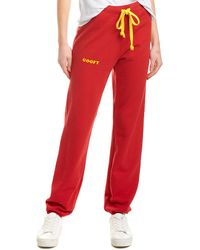 Warm Goofy Sweatpant - Red
